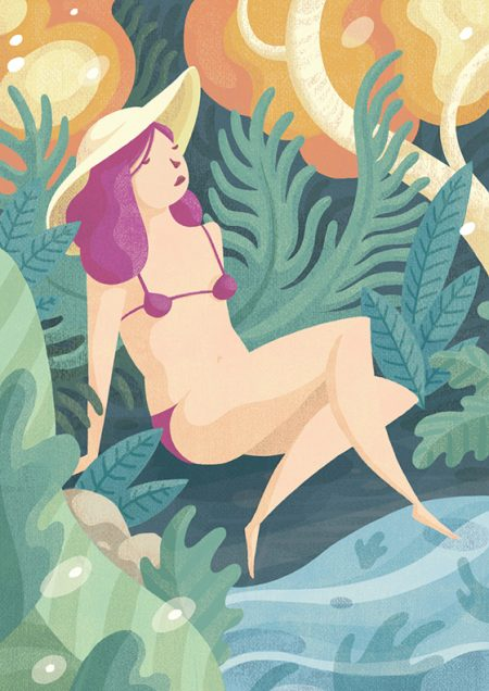 Beauty Illustration Natur Relax