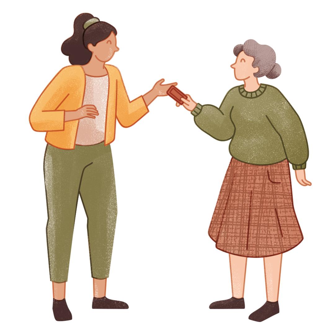 Vertrauen Generationen Hilfe
